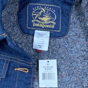 Patagonia Jackets & Coats - Patagonia High Rise Hemp Denim Jacket NWT